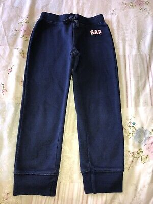 Baby Gap Tracksuit Bottoms Girls Age 5 Navy Blue With Gap Logo