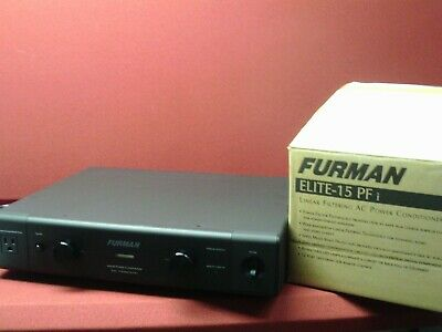 Furman Elite-15 PFi, 15-amp power line conditioner and surge protector, Elite 15