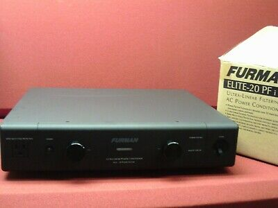 Furman Elite-20 PFi, 20-amp power line conditioner and surge protector