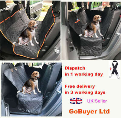 Dog Car Seat Cover Protector Hammock for Dogs - Waterproof & Universal