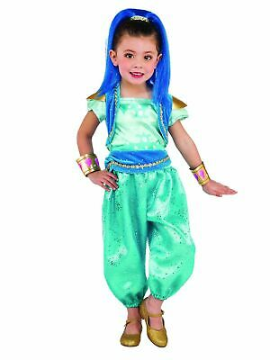 Shine Girls Costume Shimmer Nick Jr Fancy Dress Outfit Official Dressup childs