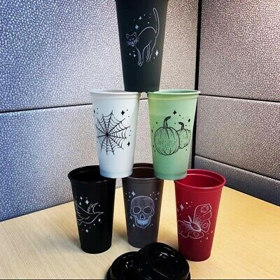 Starbucks Limited Edition 2019 Halloween Reusable Hot Cups Completely Sold Out!!