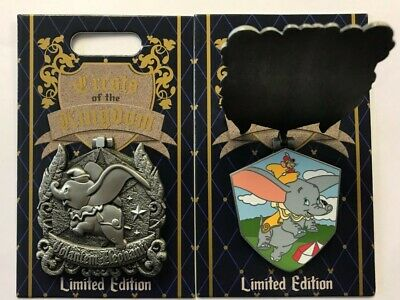 Disneyland 2019 DUMBO with Timothy Crests of the KIngdom LE Disney Pin