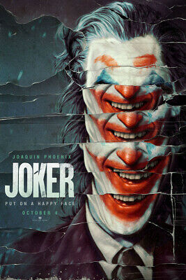 Y649 Joker Poster Art Silk Joaquin Phoenix Movie 2019 Comics Print