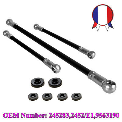 Pour Peugeot 106 Citroen Saxo Gear Linkage Push Rods 3pc Kit Seal 245283 2452/E1
