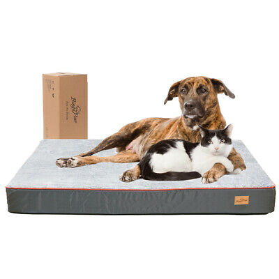 Extra Large Dog Bed Soft Foam Orthopedic Durable Jumbo XL Self Warm Mattress Bed