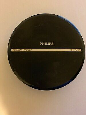Philips EXP2546 Dynamic Bass Boost Portable CD Player Plays MP3 CD-RW CDR
