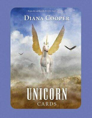 Unicorn Cards by Cooper, Diana  New 9781844091447 Fast Free Shipping..