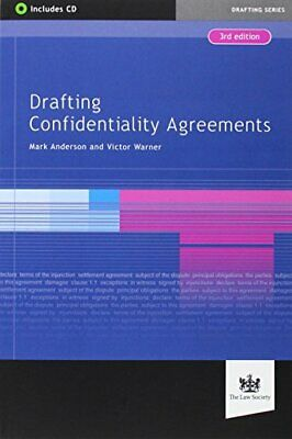Drafting Confidentiality Agreements, Anderson, Victor 9781907698972 New..