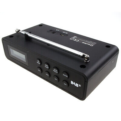 Portable Rechargeable DAB+ and FM Camping/Caravan/Bedroom/Kitchen Digital Radio