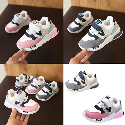 Winter New Toddler Baby Boy Girls Children Sneakers Mesh Soft Running Warm Shoes