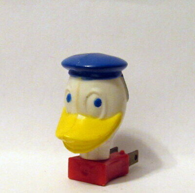 Disney 1950/'s Donald Duck Night Light Built-in Neon Bulb NOS Unopened Sealed GE