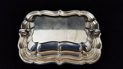 Sterling Silver Reed & Barton Windsor X959 Covered Double Vegetable Dish