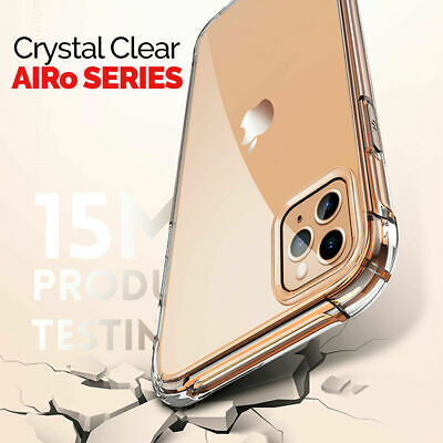 CLEAR Case For iPhone 11 Pro Max Cover Shockproof Silicone Gel TOUGH Protective