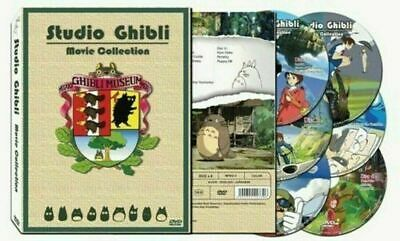 *NEW* 17 Movie Miyazaki Films / Studio Ghibli Collection (DVD Box Set) -ENGLISH-