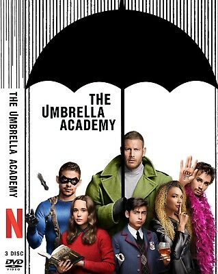 The Umberlla Academy Season 1 Dvd