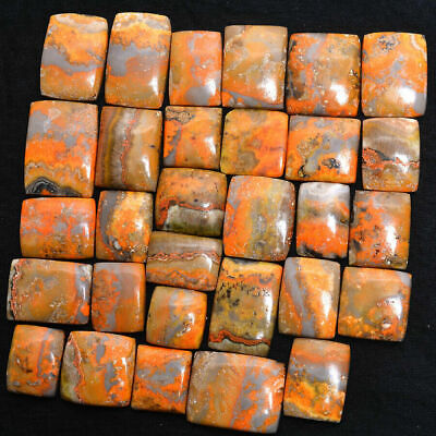 190 250Cts Superb Moss Agate Cabochon Natural Gemstone Wholesale Lot