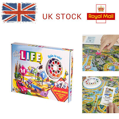 Hot The Game of Life Board Game Fun Party Kids Family Interactive Newest Edition
