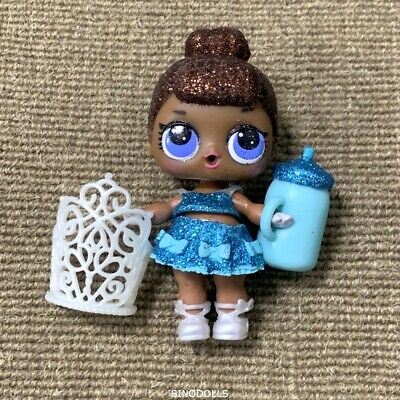 Lol Surprise Doll Glitter MISS BABY With Crown Glam Club #G-012 Series 2 Gifts
