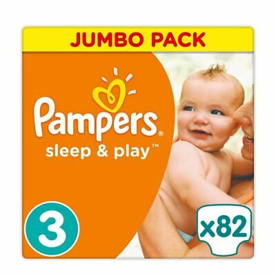 Pampers luiers Sleep & Play Maat 3 - 82 luiers