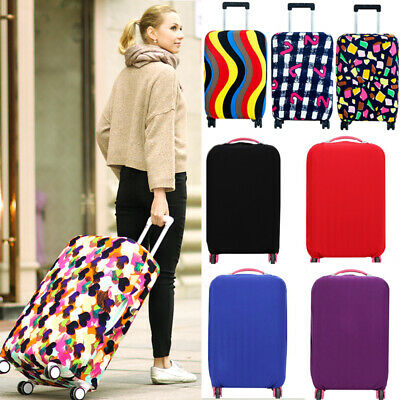 Colourful Luggage Protector Elastic Suitcase Cover Bags Dustproof Anti Scratch
