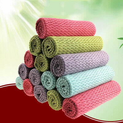 Washcloth Absorbent Towels Wipes Multi-purpose Dishcloth Cleaning Towel Cloth
