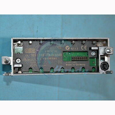 1PC Used Siemens Module 6ES7 194-4CA00-0AA0 Tested In Good Free Shpping