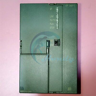 1PC Used Siemens CP343-1 6GK7 343-1EX10-0XE0 6GK7343-1EX10-0XE0 Tested