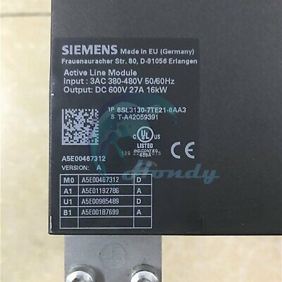 1PC Used Siemens PLC 6SL3130-7TE21-6AA3 Tested In Good