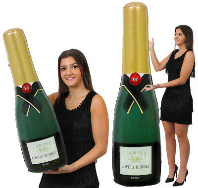 Giant Champagne Bottle Blow Up Party Party Wedding Celebration Multipack Lot