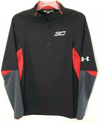 $75 Under Armour SC30 Curry Long Sleeve Basketball Shoot Warmup Shirt Large NWT