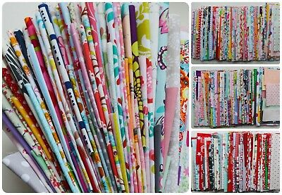 HUGE Mixed Cotton Fabric Remnants / Scraps Craft Bags of .5kg or .3kg