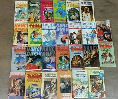 26 NANCY DREW BOOKS by CAROLYN KEENE **FREE UK POST** PAPERBACK