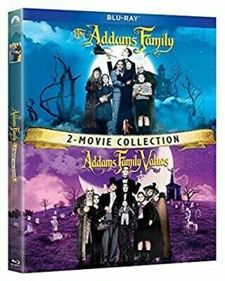 Addams Family / Addams Family Values 2 Movie Coll (REGION A Blu-ray New)