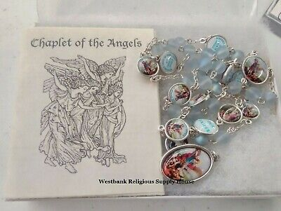 Chaplet of the Angels with Instructions and Gift Boxed - St. Michael Archangel