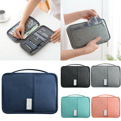 Travel Wallet Family Passport Holder Creative Waterproof Document Case Organizer