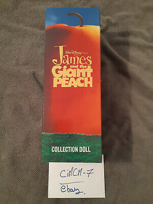 "Disney James and the Giant Peach 14"" Centipede Collection Doll Jun Planning Co."