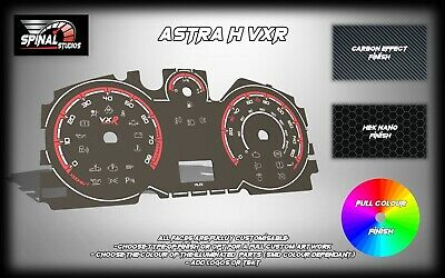 Vauxhall Astra H VXR Custom Gauges