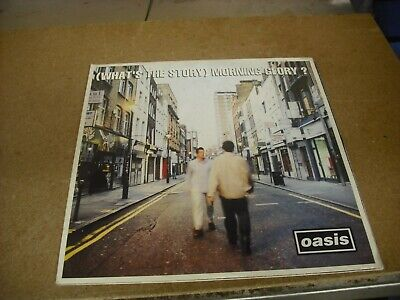 Oasis 'Whats the story, Morning Glory' vinyl double LP 1st edition LP189
