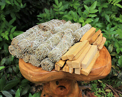 20 Palo Santo Wood & 20 White Sage Smudge Sticks (Wholesale Bulk Lot)