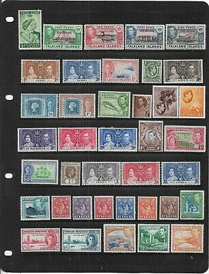 Old British Empire King George Vi Mint Collection With Sets