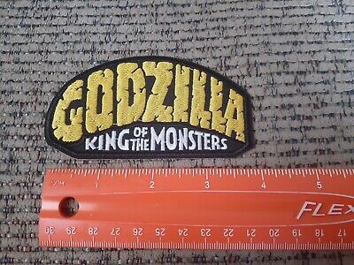 Godzilla: King of the Monsters Sew or Iron on Patch NEW Retro