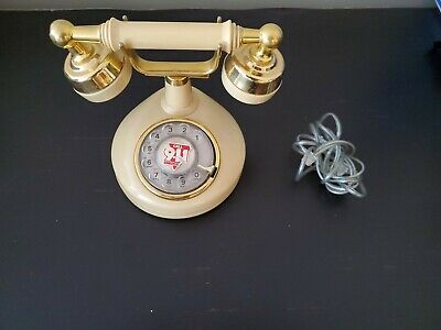 Western Electric Vintage Rotary Dial French Style Desk Phone