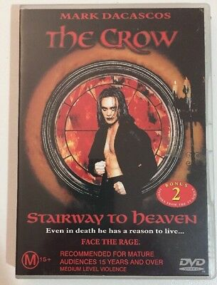 The Crow - Stairway To Heaven (DVD, 2002)  Great Condition