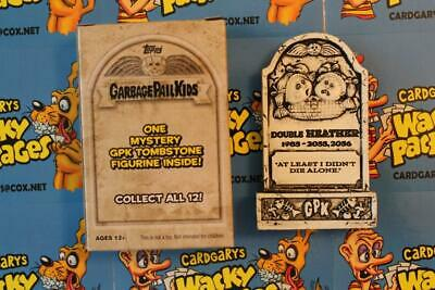 2019 Garbage Pail Kids Revenge Of Oh The Horrible Tombstone Double Heather