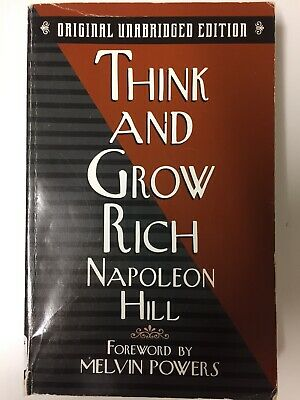 Think and Grow Rich by Napoleon Hill PB Self Help Motivational
