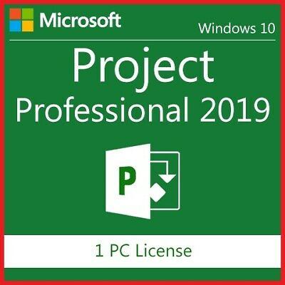 Project 2019 Pro Professional 2019, Lifetime code, Genuine, Fast Delivery