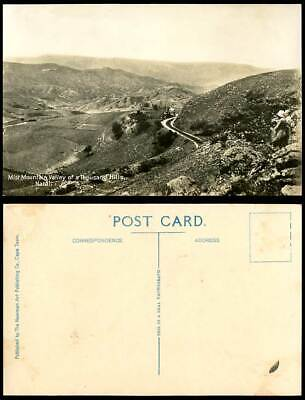 South Africa Mist Mountain Valley of 1000 a Thousand Hills NATAL Old RP Postcard