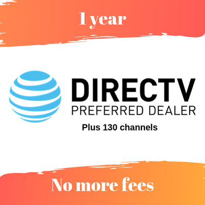 DirectTV  150+ CH | 1 Year | USA Only  | Plus Free Gift 🔥