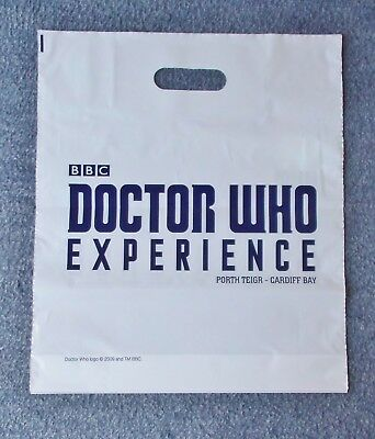 Dr Who Experience Cardiff - Unused CARRIER BAG - 34 by 41cm approximately